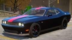 Dodge Challenger SRT V1.1 PJ3 для GTA 4