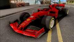 F1 Ferrari 2019 для GTA San Andreas