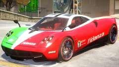 Pagani Huyara V1 PJ2 для GTA 4