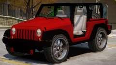 Jeep Wrangler V1 для GTA 4