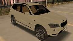 BMW X3 F25 2012 v1.0 Bulkin edition для GTA San Andreas