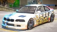 BMW M3 GTR PJ5 для GTA 4