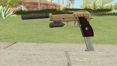 Hawk And Little Pistol GTA V (Army) V3 для GTA San Andreas