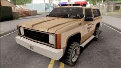 Police Ranger Hawkins PD from Stranger Things для GTA San Andreas