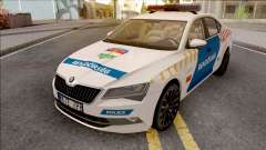 Skoda Superb Magyar Rendorseg для GTA San Andreas