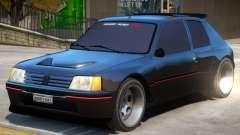 Peugeot 205 V1.2 для GTA 4