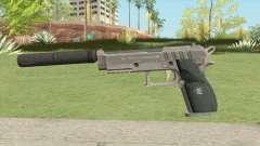 Hawk And Little Pistol GTA V Black (Old Gen) V6 для GTA San Andreas
