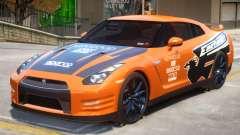 Nissan GT-R V2 PJ1 для GTA 4
