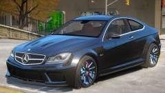Mercedes Benz C63 V1 для GTA 4