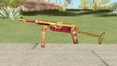 MP-40 (Bloody Gold) для GTA San Andreas