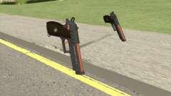 Hawk And Little Pistol GTA V (Orange) V1 для GTA San Andreas