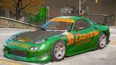Mazda RX-7 V2 PJ2 для GTA 4