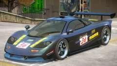 McLaren F1 V1 PJ4 для GTA 4
