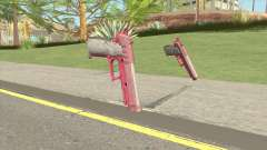 Hawk And Little Pistol GTA V (Pink) V1 для GTA San Andreas