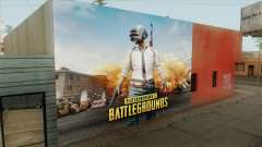 PUBG Wall для GTA San Andreas