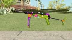 MP-40 (New Year) для GTA San Andreas