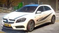 Mersedes Benz A45 V1 PJ2 для GTA 4