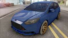 Ford Focus ST 2019 Low Poly для GTA San Andreas