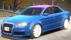 Audi RS4 V2 PJ2 для GTA 4