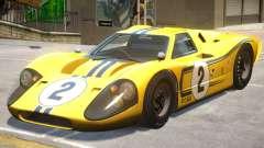 1967 Ford GT40 PJ1 для GTA 4