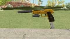 Hawk And Little Pistol GTA V (Gold) V3 для GTA San Andreas