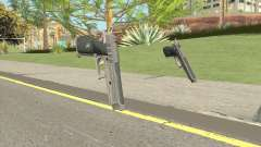 Hawk And Little Pistol GTA V Black (Old Gen) V1 для GTA San Andreas