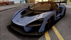 McLaren Senna 2018 Blue для GTA San Andreas