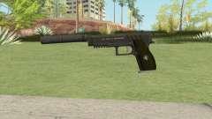 Hawk And Little Pistol GTA V (Green) V6 для GTA San Andreas