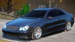 Mercedes Benz CLK63 AMG V1.1 для GTA 4