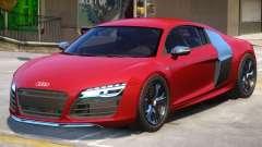 Audi R8 V10 Coupe для GTA 4