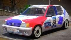 Peugeot 205 Sport PJ для GTA 4