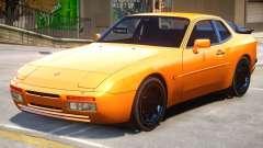 1989 Porsche 944 для GTA 4