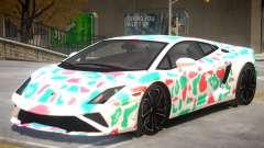 Lamborghini Gallardo V2 PJ2 для GTA 4