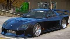 Mazda RX-7 V1.2 для GTA 4