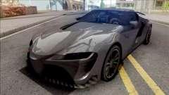 Toyota Supra 2020 Low Poly для GTA San Andreas