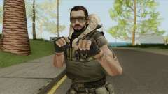 Character From Point Blank V7 для GTA San Andreas