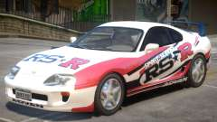 1995 Toyota Supra V1 PJ для GTA 4