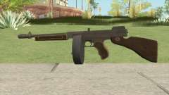 Edinburgh Gusenburg Sweeper GTA V (Black New) V2 для GTA San Andreas