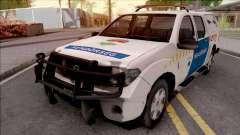 Nissan Frontier Rendorseg для GTA San Andreas