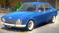 Peugeot 504 V1.1 для GTA 4