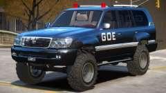 Toyota Land Cruiser Police для GTA 4