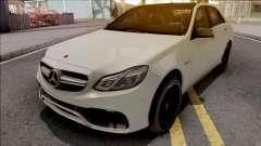 Mercedes-Benz E63 AMG W212 White для GTA San Andreas