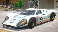1967 Ford GT40 V1 PJ6 для GTA 4