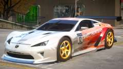 Lexus LFA V1 PJ для GTA 4
