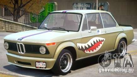 1973 BMW Turbo V1 PJ для GTA 4