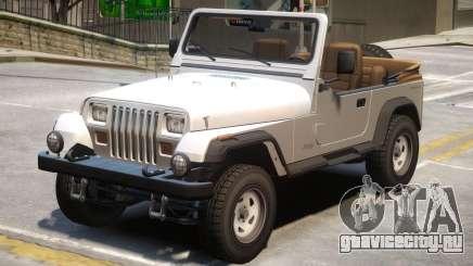 Jeep Wrangler V2 для GTA 4