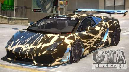 Gallardo GT3 V1 PJ для GTA 4
