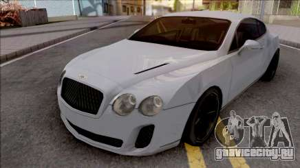 Bentley Continental Supersports 2010 Lowpoly для GTA San Andreas