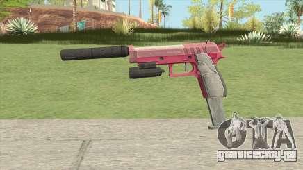 Hawk And Little Pistol GTA V (Pink) V3 для GTA San Andreas