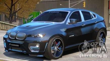 BMW X6 EVO Hamann для GTA 4